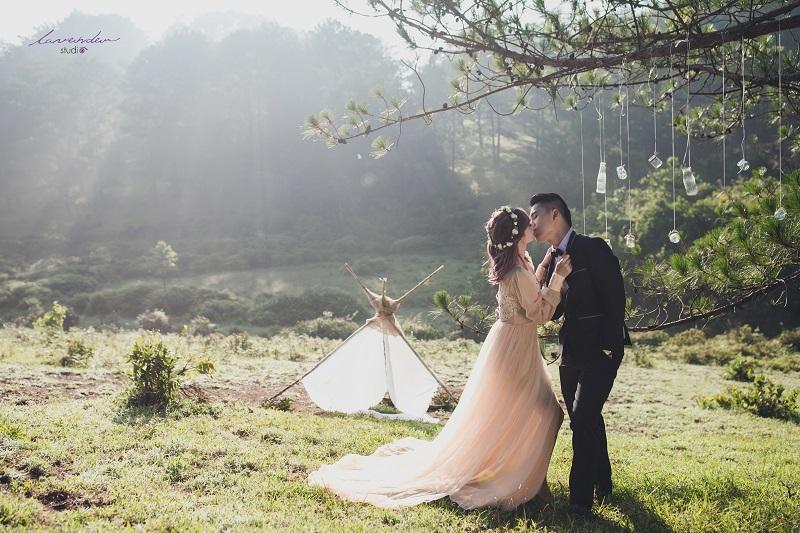 Gói chụp ảnh cưới Đà Lạt