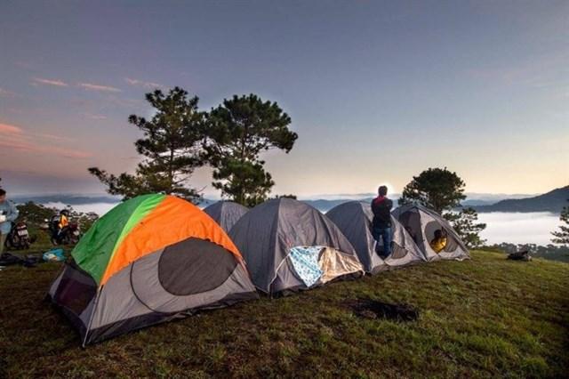 kinh nghiệm cắm trại Đà Lạt