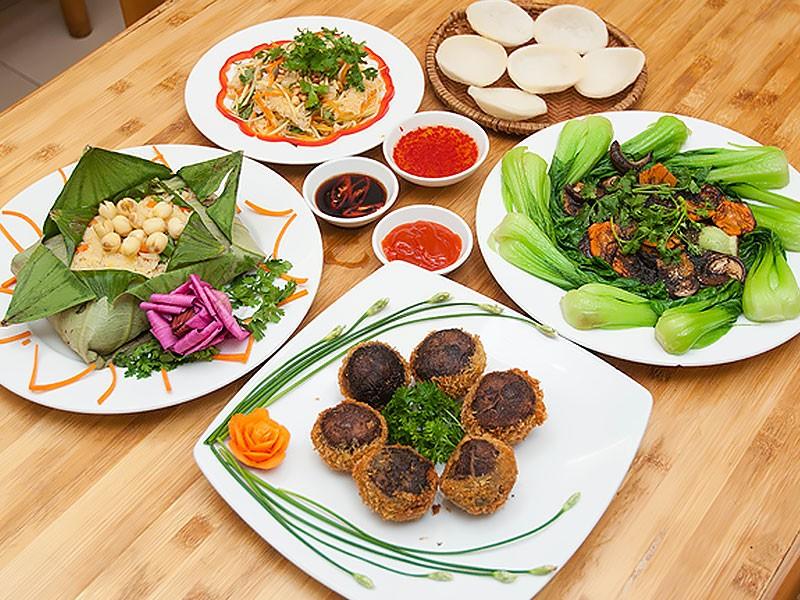món ăn chay Đà Lạt