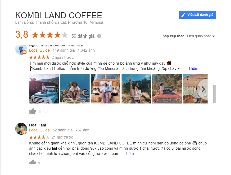 Review Kombi Land