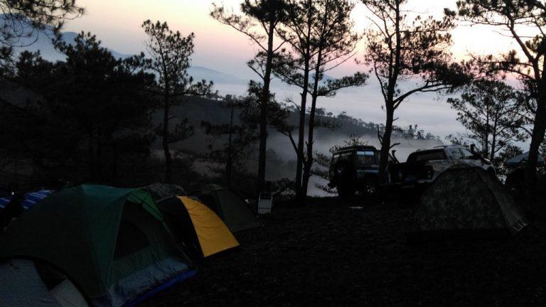 thuê lều cắm trại ở Đà Lạt