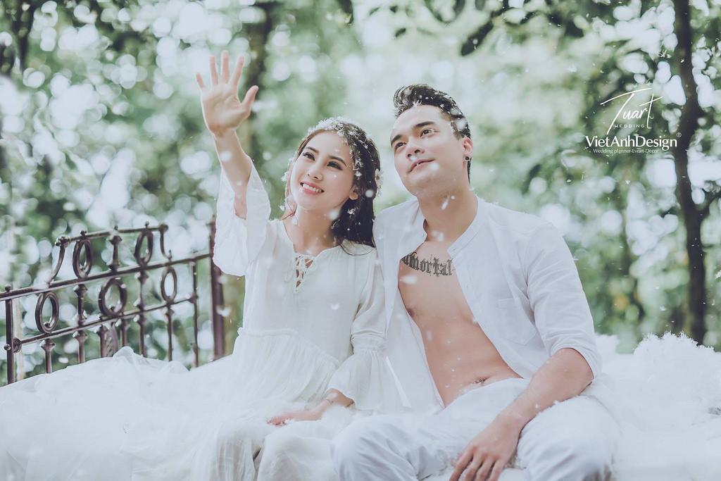 Trang phục chụp ảnh cưới Đà Lạt