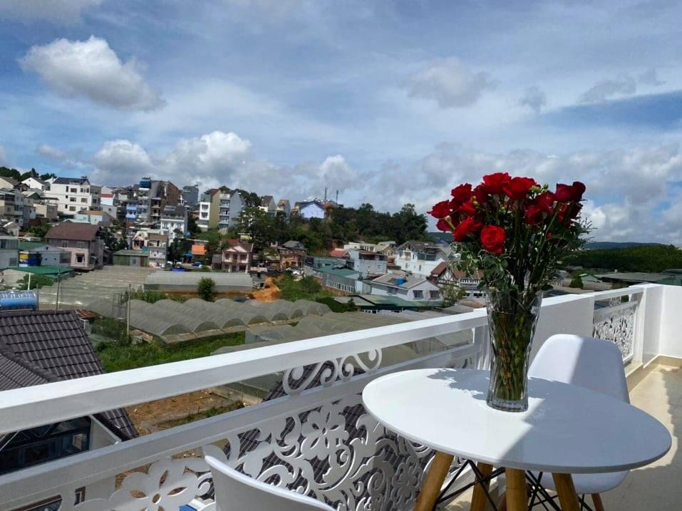 Phong cảnh tại villa Lam Quỳnh