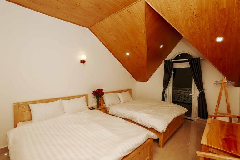 Phòng 4 người tại villa