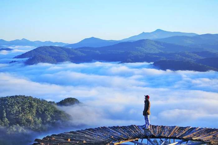 giá tour săn mây Đà Lạt