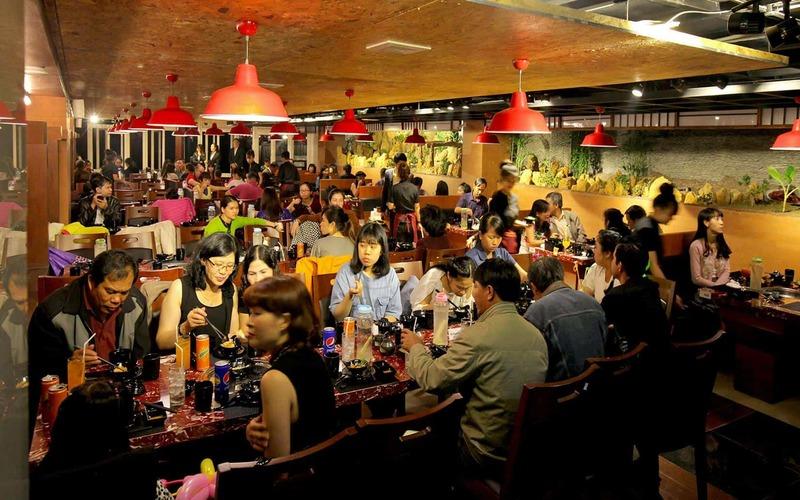Khung cảnh nhà hàng Kings Đà Lạt