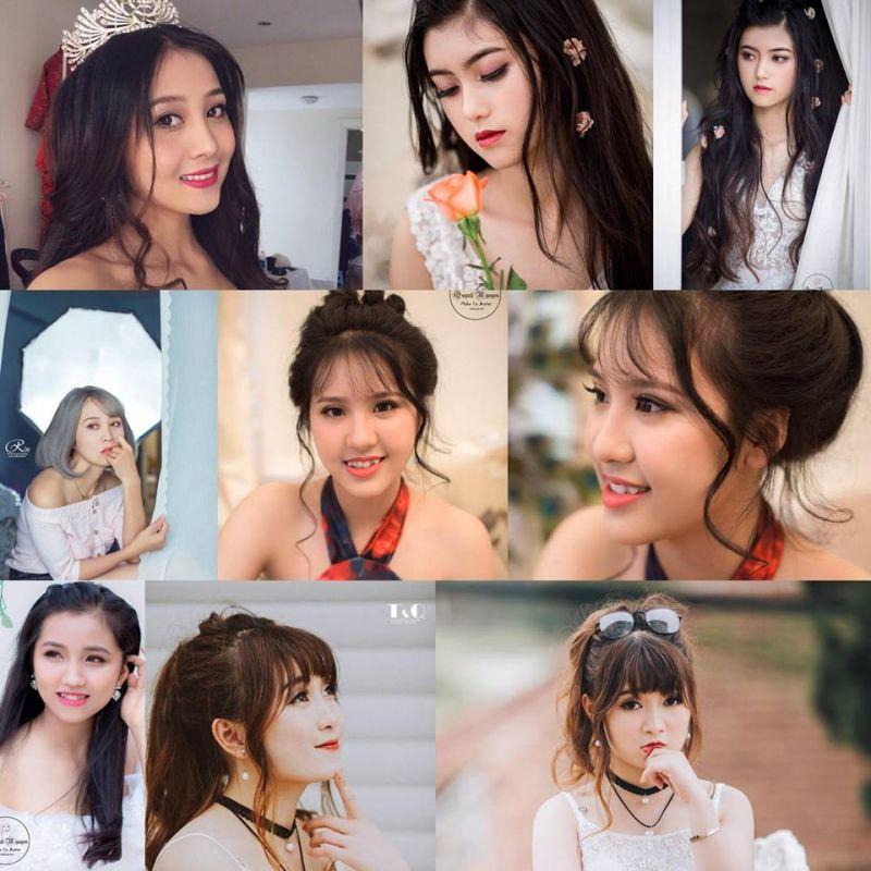 Quỳnh Nguyễn makeup Đà Lạt