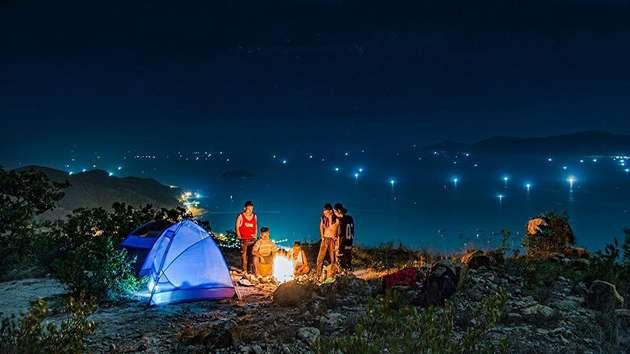 tour cắm trại qua đêm Đà Lạt