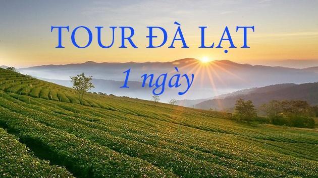 tour du lich Đà Lạt 1 ngày